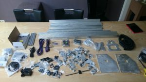 Picture of CNC components