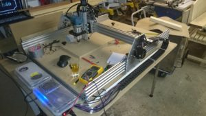 First working homebuild CNC router