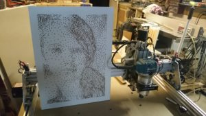 photo made on CNC Router