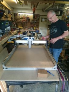 Picture of Basic cnc router table