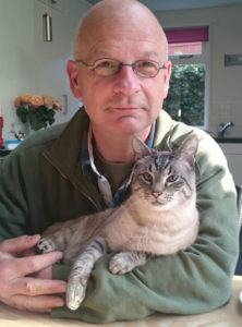 photo of JohanMulder and his Cat